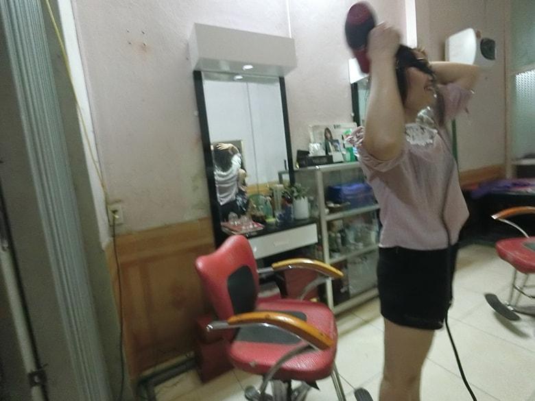 ラオカイ 洗髪屋の綺麗なお姉さん