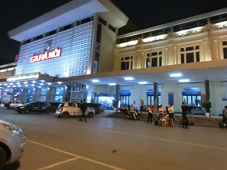 ベトナム ハノイB駅