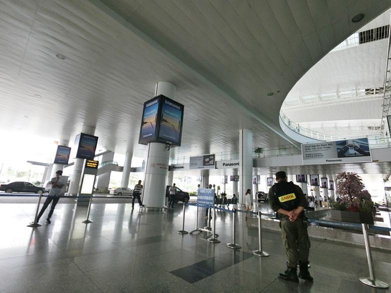ベトナム ハノイのノイバイ空港