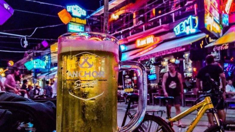 パブストリートのビール