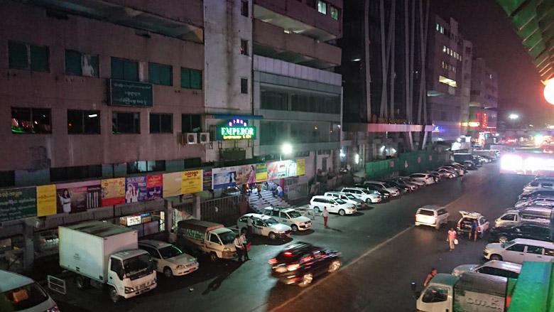 ヤンゴンのKTV エンペラー