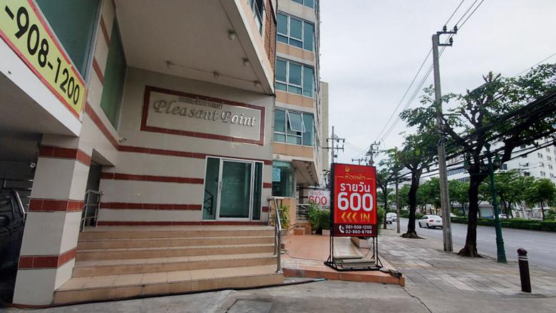バンコク・リバーサイド沿いのラブホ利用ができるホテル